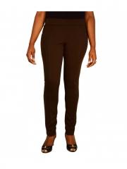Brown Stretch Legging Pant Brown s