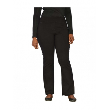 Black Classic Pull On Fit Pants black 6