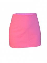 Pink Women's Mini Skirt pink s