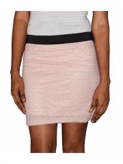 Zigzag Beige Classic Women Fashion Mini Skirt beige s