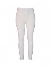 White Ladies Legging Pants white s