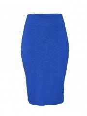 Blue Studded Tube Skirt blue m