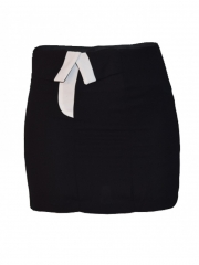 Black Womens Mini Skirt black s