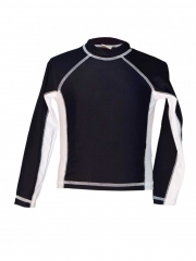 Kids Black Long Sleeved Tee black 4yrs
