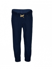 Solid Jogger Pants navy blue 4r