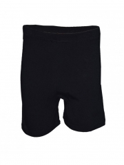 Black Kids Shorts black free size