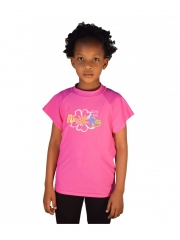 Girls Summer Pink Casual T shirt pink 10yrs