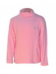 High Neck Long Sleeved Kids Top pink 12m