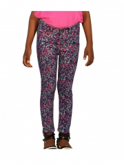 Cute Super Skinny Girls  Pants Multicolored 2T