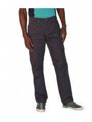 Straight Fit Mens Pants dark grey 42