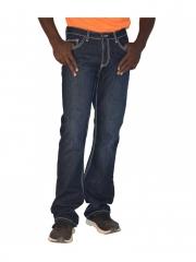 Straight Fit Mens Pants dark blue 30