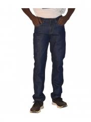 Straight Fit Mens Pants dark blue 34