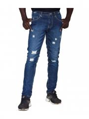 Blue Stone-Men's Distressed Jeans Blue Stone 40