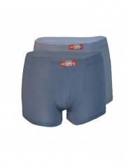Two Pack Mens Boxer Shorts light blue s