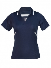 Classic Navy Womens Polo T-shirt classic navy blue s