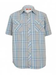 Grey Checked Mens Shirt checked s