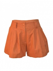 Orange Ladies Shorts Orange s