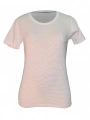 Stripped Short Sleeved Ladies Top stripped s