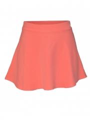 Ladies Skater Mini Skirt orange m