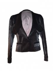 Black trendy ladies Blazer black m