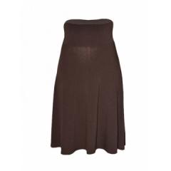 Brown Women Fashion A -Line Skirt brown s