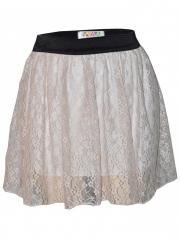 Beige Womens Mini Skirt beige s