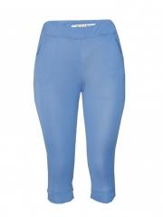 Blue Capri Womens Pant blue s