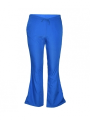 Work Wear Flare Leg Pants Royal Blue xxs