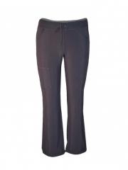 Pewter Grey Kinga Straight Leg Drawstring Pants Pewter Grey xl