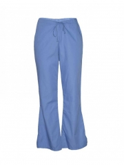 Ciel Blue Work Wear Flare Leg Pants ciel blue xs