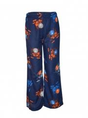 Printed Women Pajamas navy blue s
