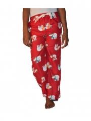 Printed Women Pajamas red s