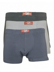 3 Pack Boxer Shorts mixed colours m