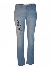 Light Blue Womens Skinny Pant light blue 1