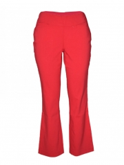 Red Womens Pants red 6