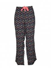 Black Printed Womens Pajama black printed xl