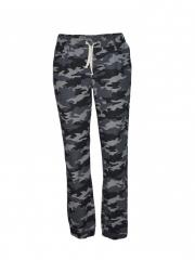 Grey Camo Jogger Pants grey s