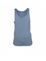 Medium Blue Mens Vest medium blue s