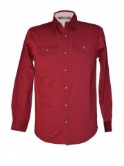 Biking Red-Men's Long Sleeved Shirt biking red m
