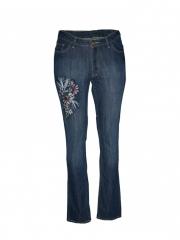 Light Blue Womens Denim Pants light blue 8