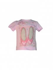 Pink Printed Kids Top pink 3 yrs