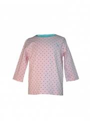 Pink Short Sleeved Kids Top pink s