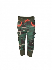 Camo Kids Jogger Pants green camo s