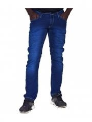 Blue -Tapered Denim Jeans blue 30