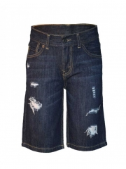Midnight blue hemmed short midnight blue 10