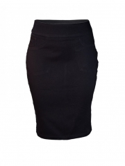 Black Pencil Skirt black 8