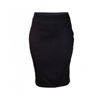 Black Pencil Skirt black 8
