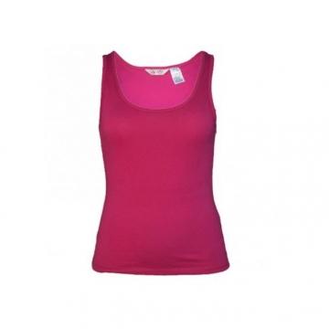 Pink Women Tank Top pink s