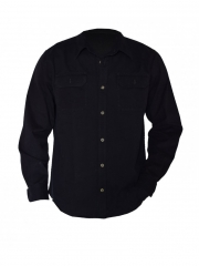 Black long sleeved Men's Shirt black s
