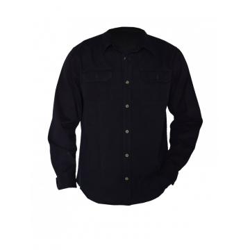 Black long sleeved Men's Shirt black s